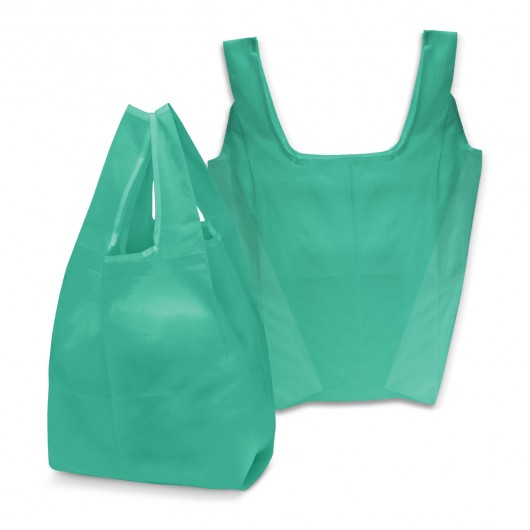 Teal Checkout Shopping Bags