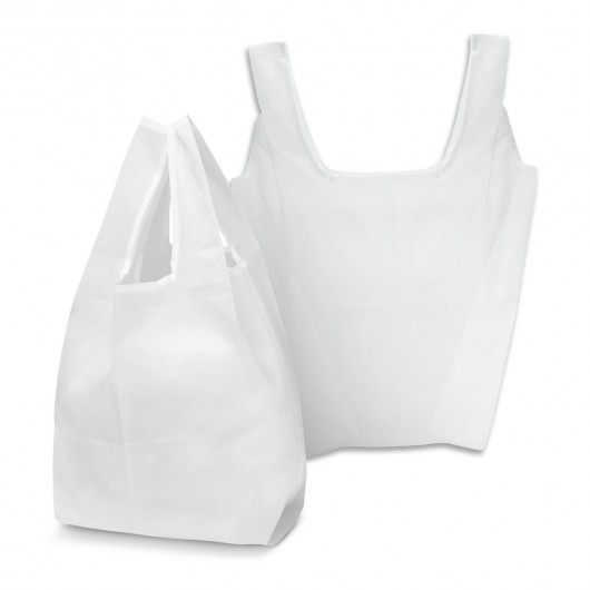 White Checkout Shopping Bags