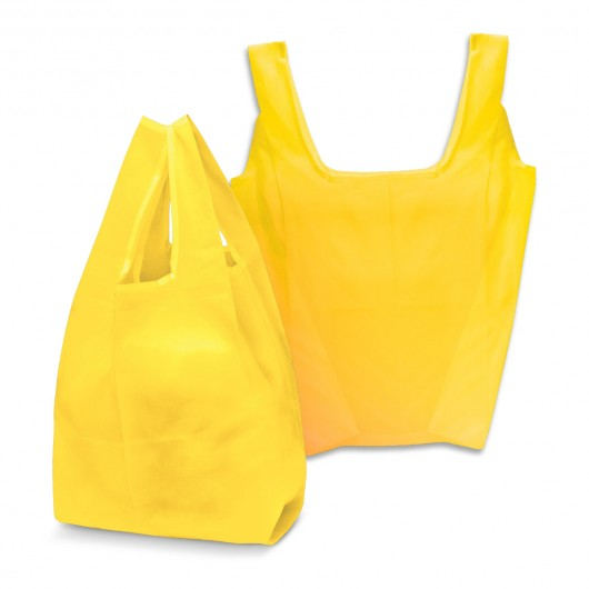 Yellow Checkout Shopping Bags