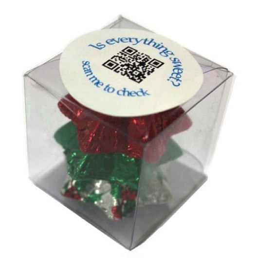 Christmas Chocolate Cubes
