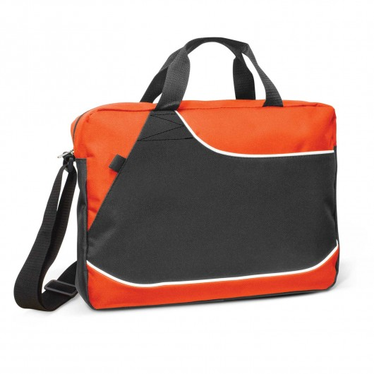 Clayfield Conference Satchels Orange