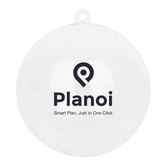 Promotional Clear Plastic Ornaments