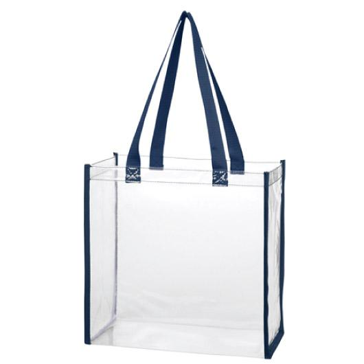 NavyClearToteBags