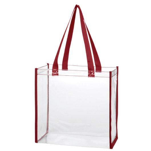 RedClearToteBags