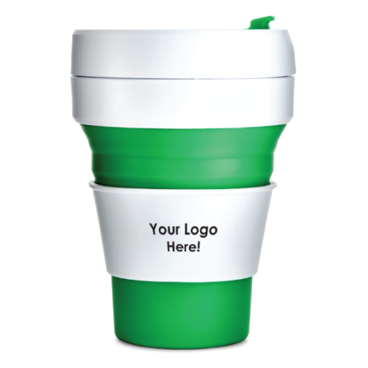 GreenCollapsibleEcoCups