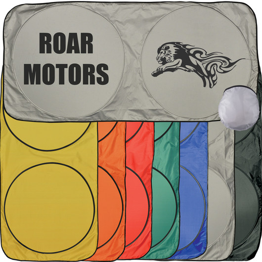 Coloured Car Sun Shades