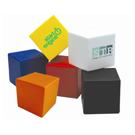 Coloured Stress Cubes
