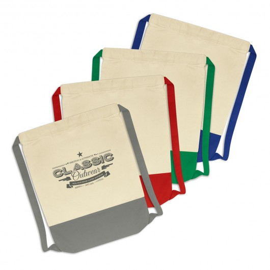 Promotional Cotton Drawstring Backsacks