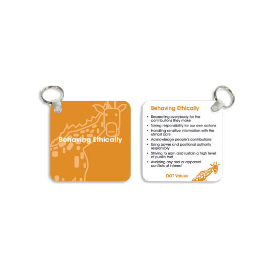 Custom Plastic Keytags | Promotion Products