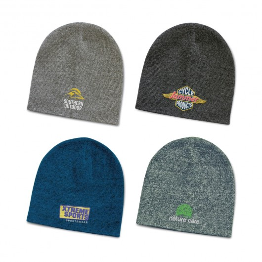 Deakin Heather Knit Beanies