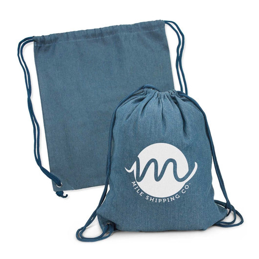 Promotional Denim Backsacks
