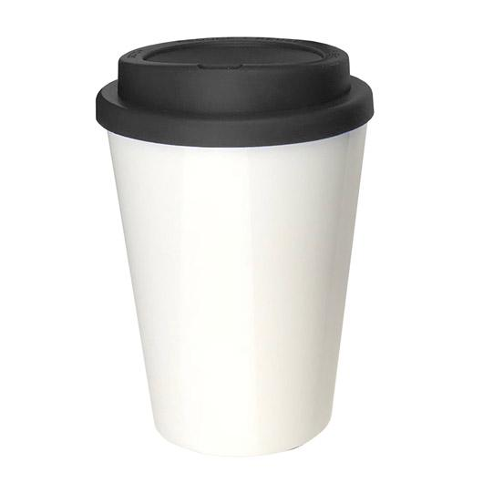 Eco Kuppa Double Wall Black Cup
