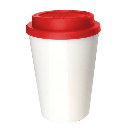 Eco Kuppa Double Wall Red Cup
