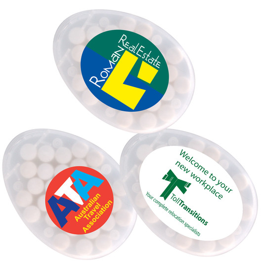 Egg Shaped Sugar Free Mints