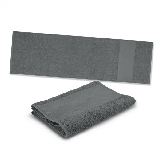 Grey Energy Sports Towels