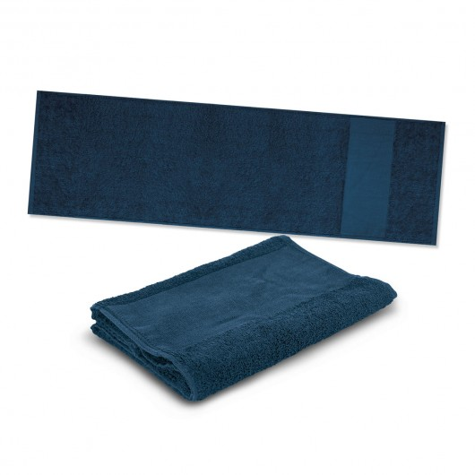 Navy Energy Sports Towels