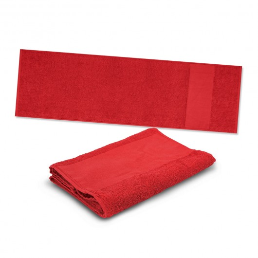 Red Energy Sports Towels
