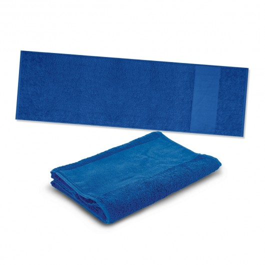 Royal Blue Energy Sports Towels