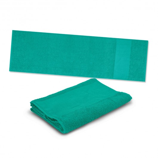 Teal Energy Sports Towels