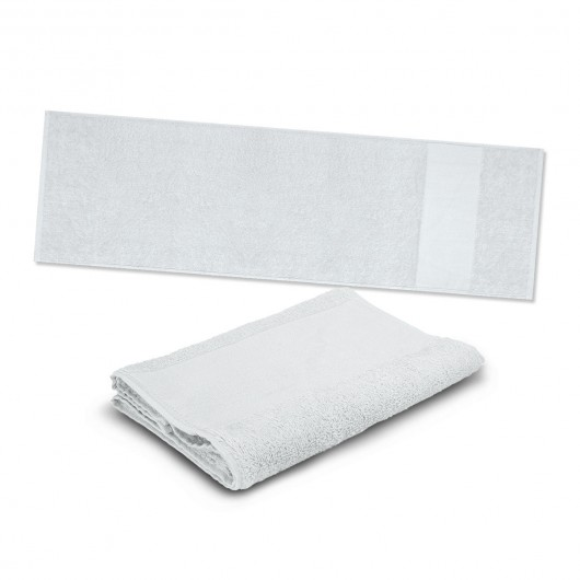 White Energy Sports Towels