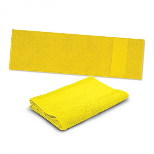 Yellow Energy Sports Towels