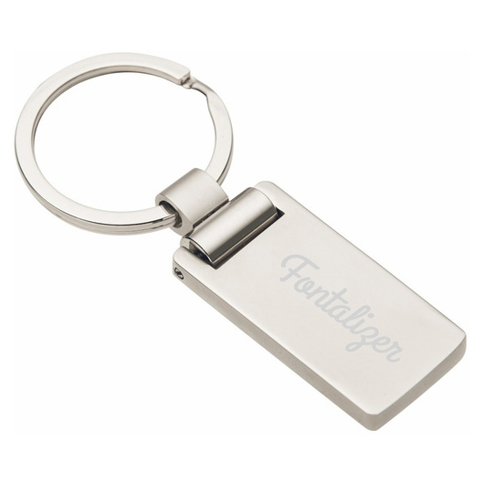 Promotional Euro Metal Keyrings
