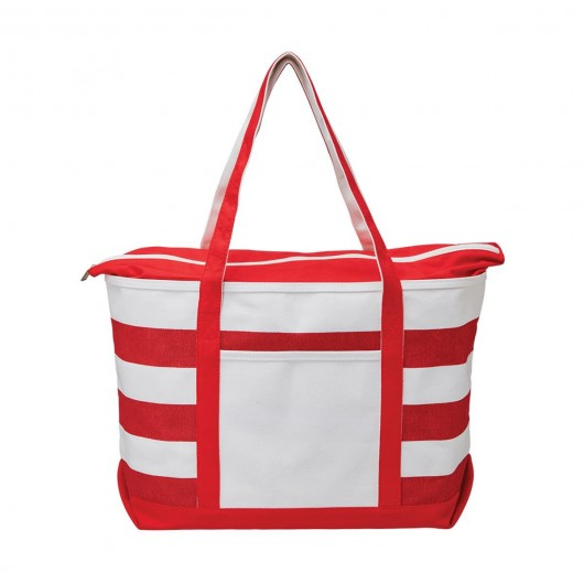 Fashionable Boat Totes Red Front