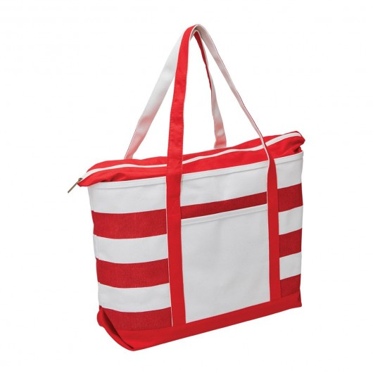 Fashionable Boat Totes Red