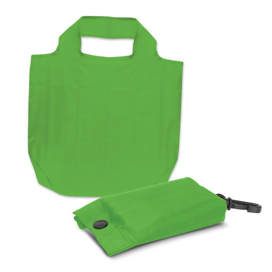 Fold Away Bags Bright Green