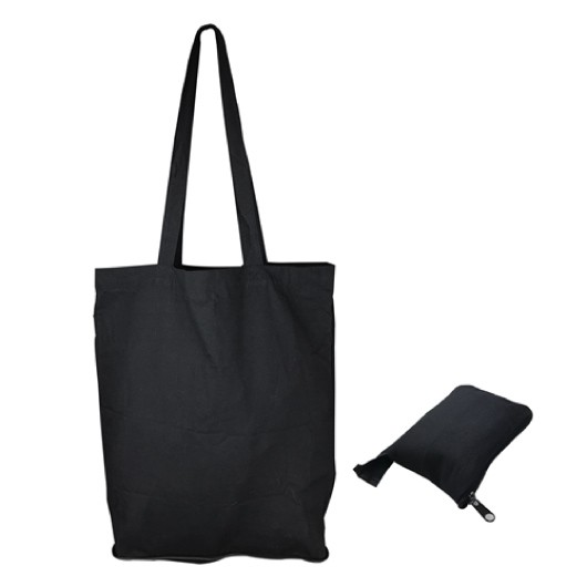 Foldable Calico Bags Black
