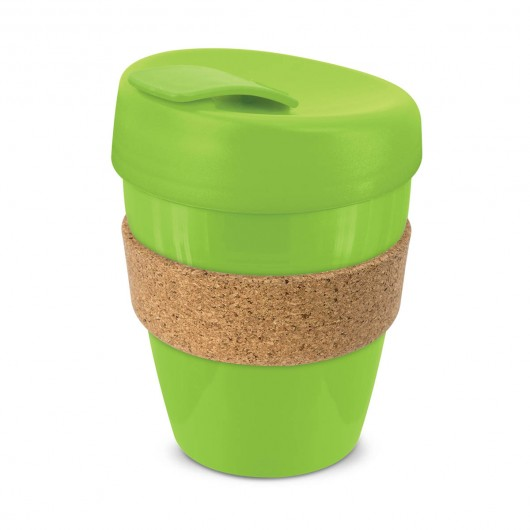 Bright Green Forrest Cork Cups
