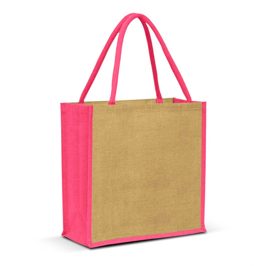 Forrest Jute Bags Natural Pink