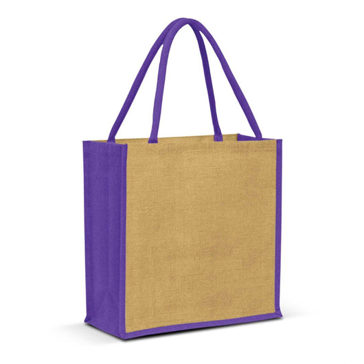Forrest Jute Bags Natural Purple