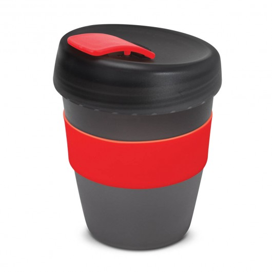 Black Red Frosted Forrest Eco Cups
