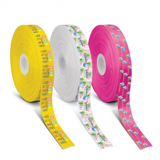 Full Colour Personalised Ribbon (40mm) printed
