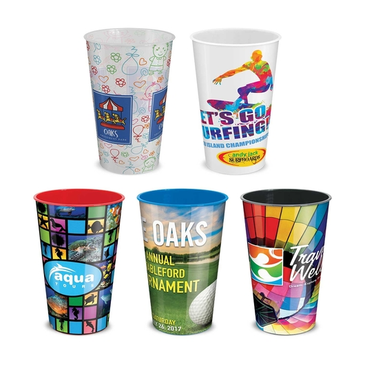 Full Colour Reusable Cups Hero