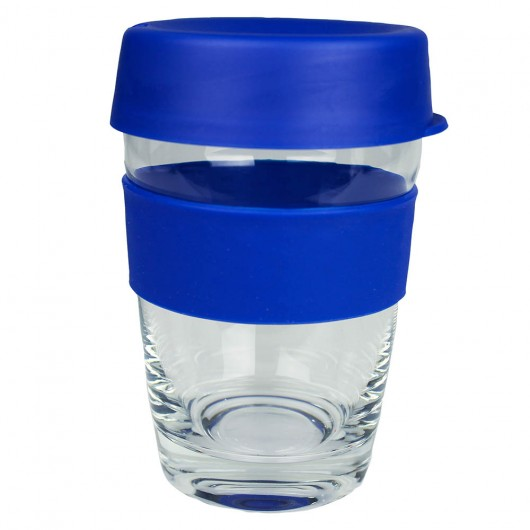 Blue Glass Carry Cups