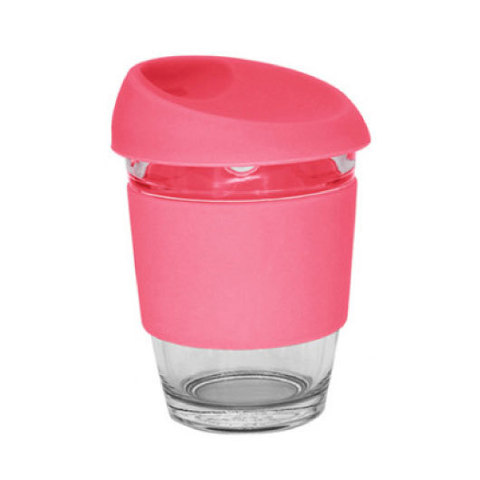 Pink Glass Karma Kup