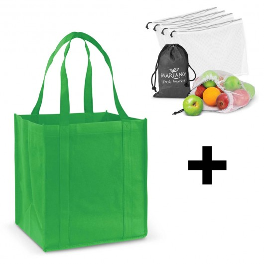 Bright Green Grocery Shopping Packs