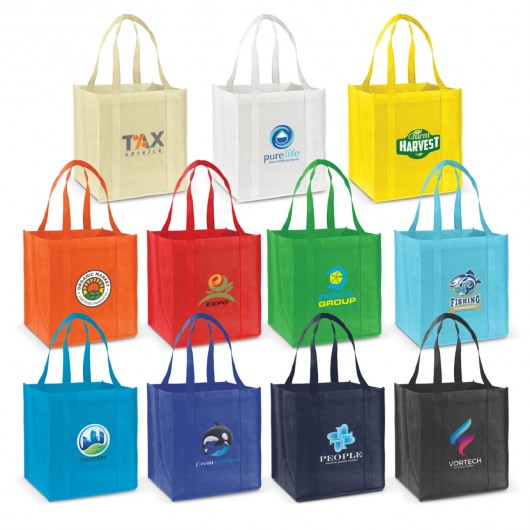 Grocery Shopping Bags Printed
