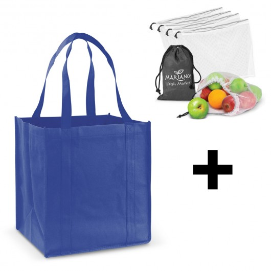 Royal Blue Grocery Shopping Packs