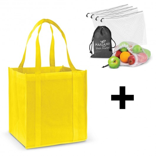 Yellow Grocery Shopping Packs