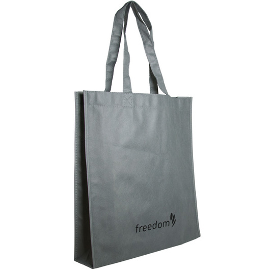Gussett Tote Bags Charcoal