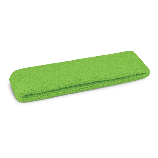 Head Sweat Bands Bright Green