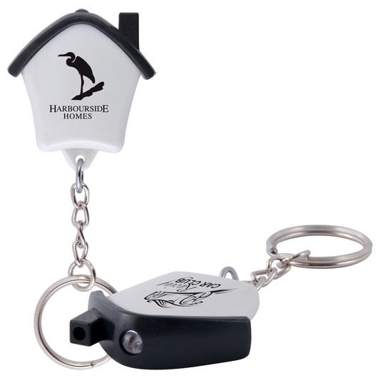 House Flashlight Keyrings