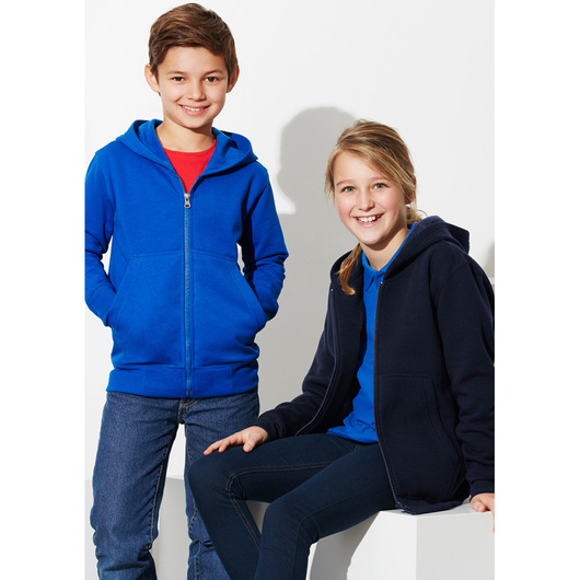 Kids Crew Zip Hoodies