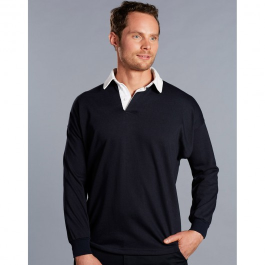Long Sleeve Rugby Tops Model