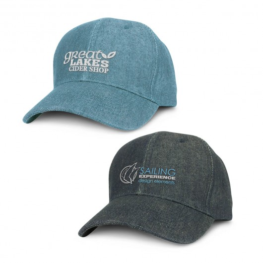 Longreach Denim Caps