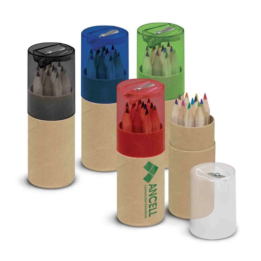 Malvern Coloured Pencil Tubes