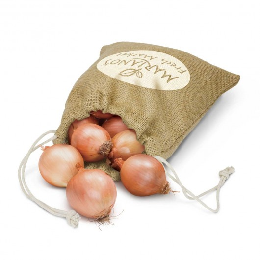 Printed Medium Jute Produce Bags